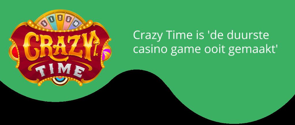Crazy Time: 'duurste casino game show ooit gemaakt'