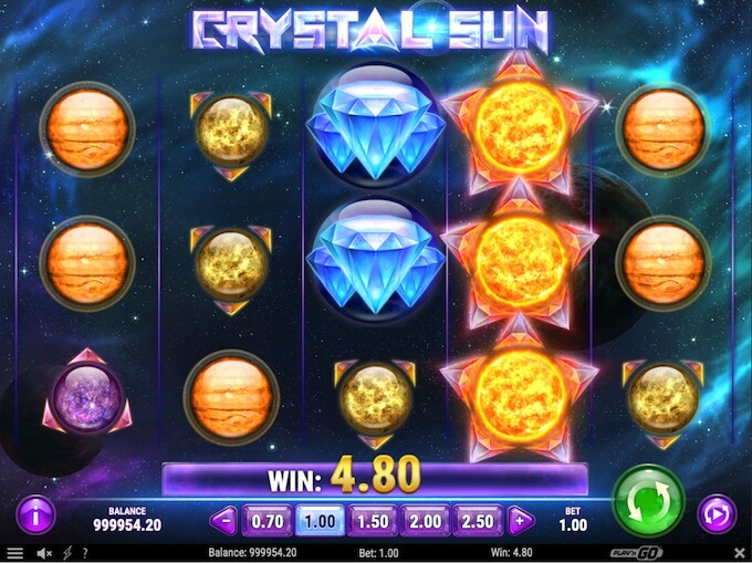 Crystal Sun slot