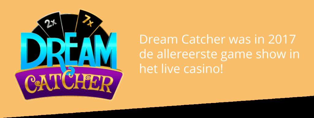Dream Catcher: de eerste casino game show ooit