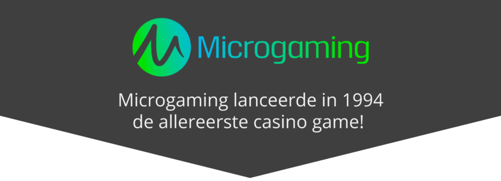 Microgaming eerste casinospel