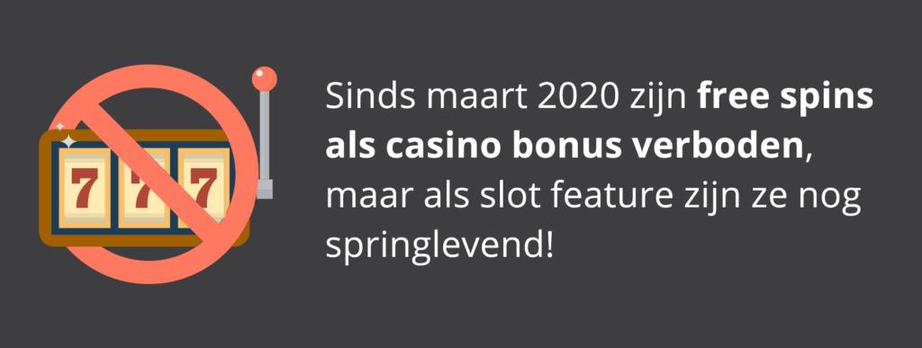 Free spins: als casino bonus verleden tijd, maar als slot feature nog springlevend!