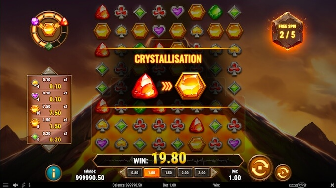 Gold Volcano free spins