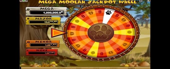 Mega Moolah Bonus