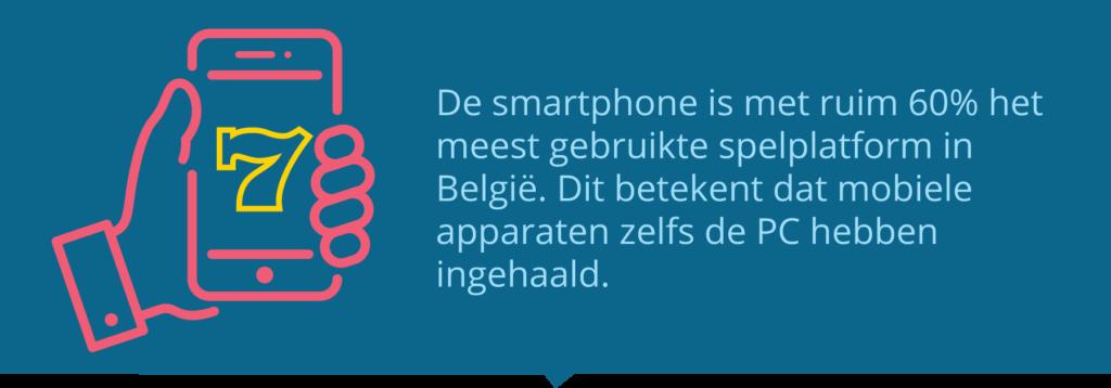 Smartphone meest gebruikt