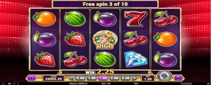 Star Joker gratis spins