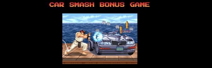 Car Smash Bonus Game