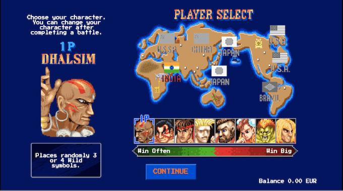 Intro Street Fighter 2 The World Warrior Slot