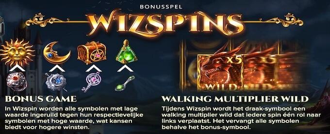 The Wiz slot bonusspel