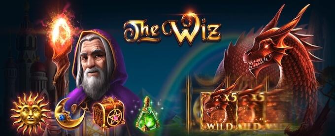 The Wiz slot graphics