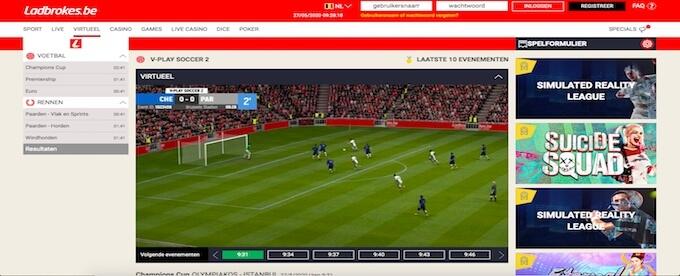 Virtual Sports Ladbrokes
